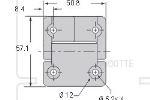 CAD E6-scharnier
