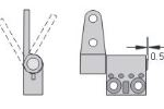 CAD ST-scharnier