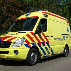Sluitingen verborgen ambulance